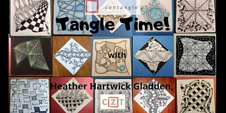 June 2021 Tangle Time, Zentangle® Sessions tickets