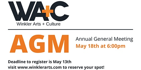WA+C Annual General Meeting tickets