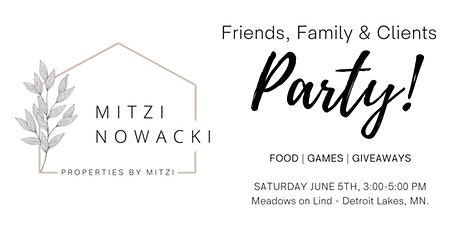 Friends, Family & Clients Party tickets