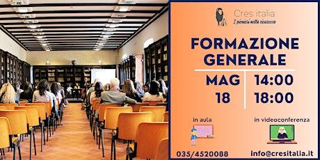 Formazione Generale biglietti
