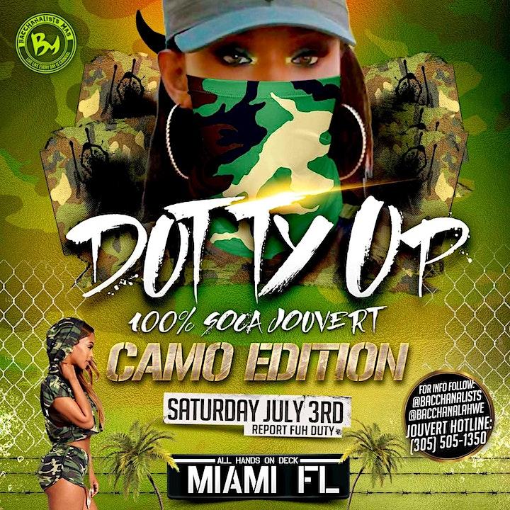 Dutty Up Camo - 100% Soca Jouvert - Miami image