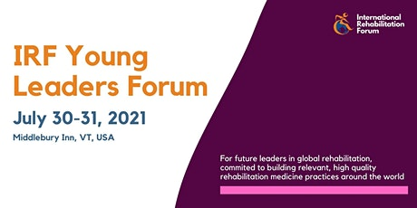 IRF Young Leaders Forum 2021 tickets