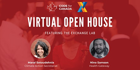 Code for Canada Open House: Featuring BC's Exchange Lab tickets