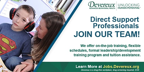 Hiring Event - Devereux - Direct Support Profesionals tickets