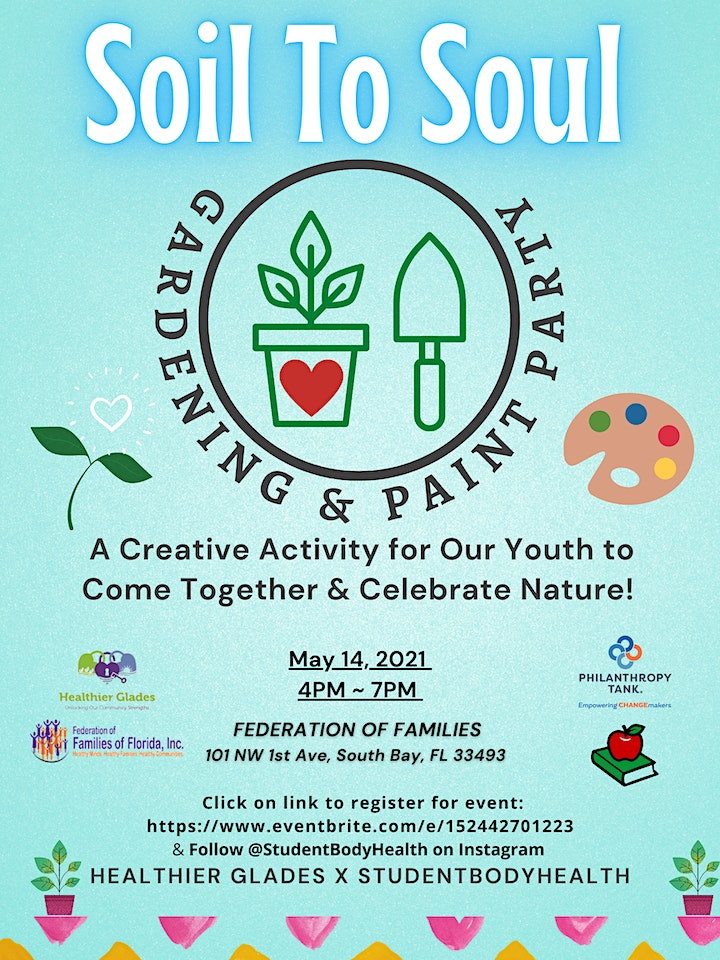 Soil to Soul Gardening and Paint Party image