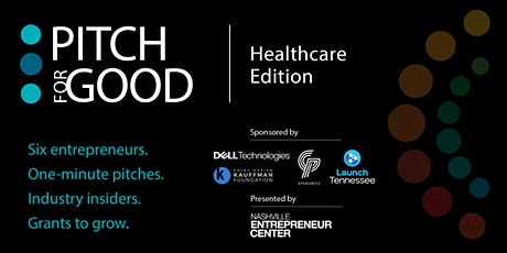 Pitch for Good 2021: Healthcare Founders Edition tickets