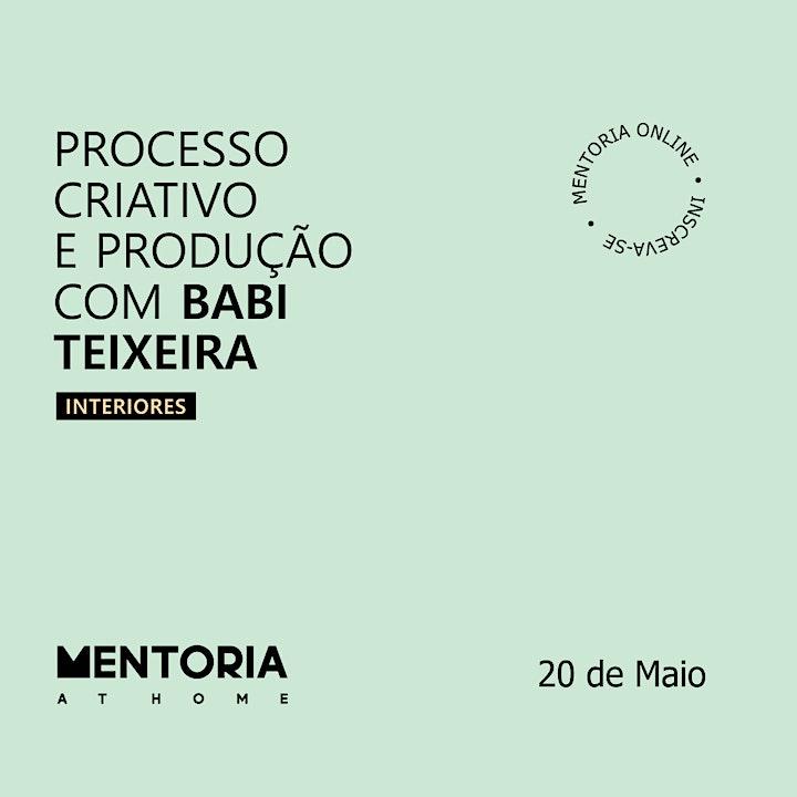 Imagem do evento Mentoria At Home com Babi Teixeira