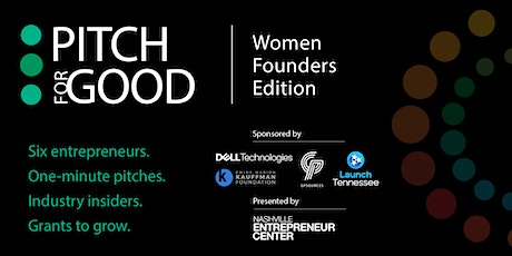 Pitch for Good 2021: Women Founders Edition tickets