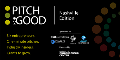 Pitch for Good 2021: Nashville Founders Edition tickets