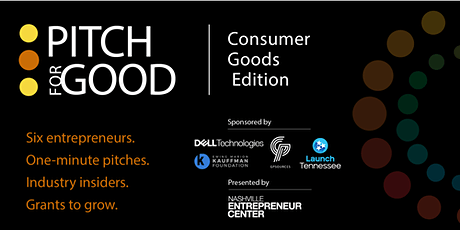 Pitch for Good 2021: Consumer Goods Edition tickets