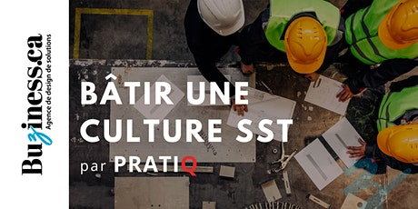 Bâtir et adapter sa culture SST face aux nouvelles réalités tickets