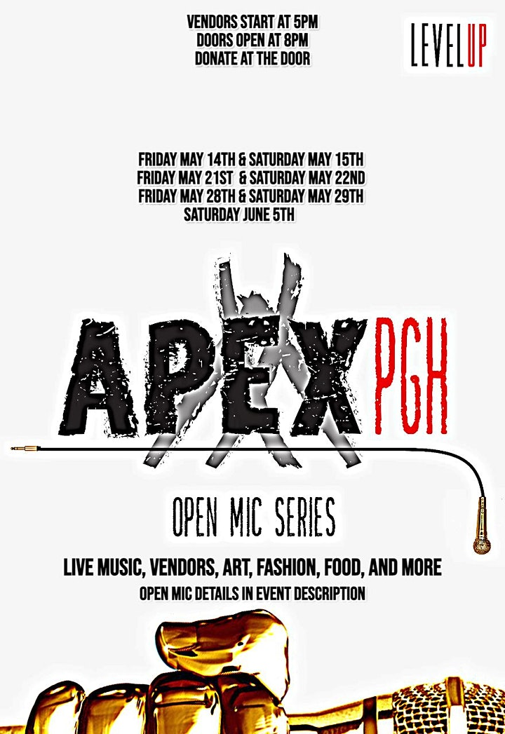 #APEXPGH OPEN MIC SERIES image