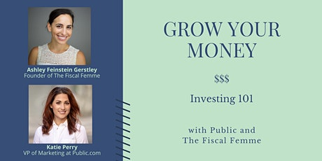 Grow Your Money - Investing 101 tickets