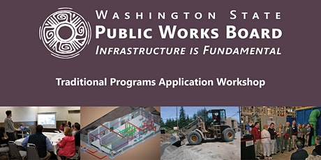 Public Works Board Traditional Programs Application Webinar tickets