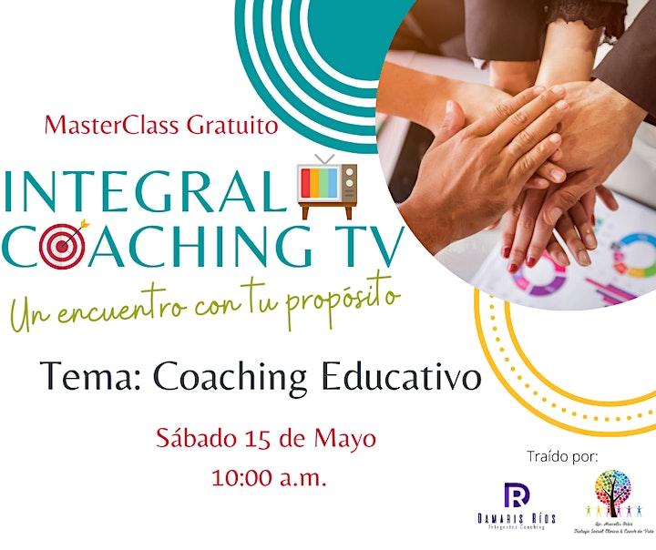 Imagen de MasterClass Gratuito: Coaching Educativo