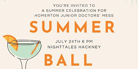 Homerton Summer Ball tickets