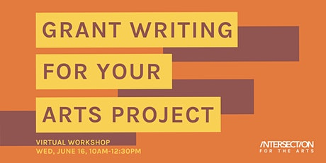Grant Writing for Your Arts Project tickets