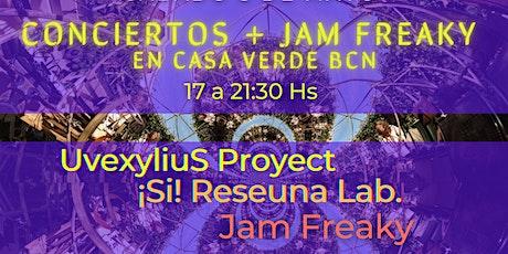 DELIRANTE - Uvexylius Project (live) // Concierto + #JamFreaky entradas