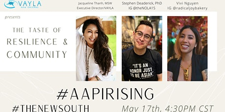 AAPI Rising: The Taste of Resilience & Community Tickets