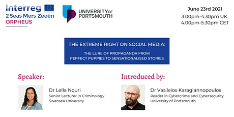 Cybercrime Awareness Clinic Seminar : The Extreme Right on Social Media tickets