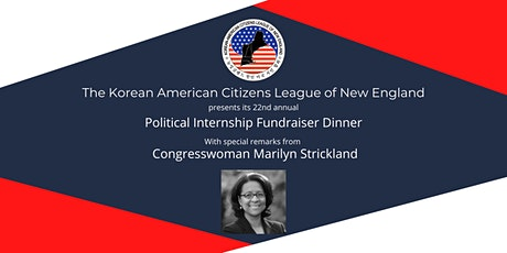 KACL-NE 2021 Political Internship Fundraiser Dinner tickets