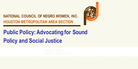 Public Policy: Advocating for Sound Policy and Social Justice tickets
