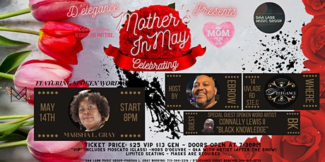 Celebrating Mother's in May With Marsha L Gray, EBrow, & Black Knowledge tickets