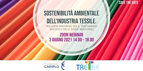 Sostenibilità ambientale dell'industria tessile. biglietti
