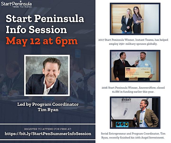 Start Peninsula Information Session image