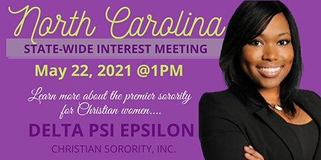 North Carolina State-Wide Interest Meeting tickets