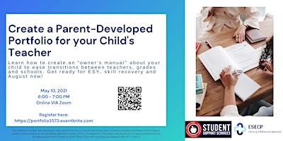 Parent Developed Portfolios for Children with Autism | #3573