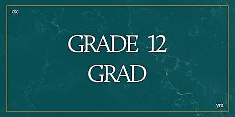 Grade 12 Grad 2021 tickets