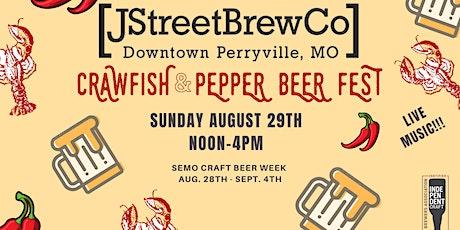 Crawfish & Pepper Beer Fest tickets