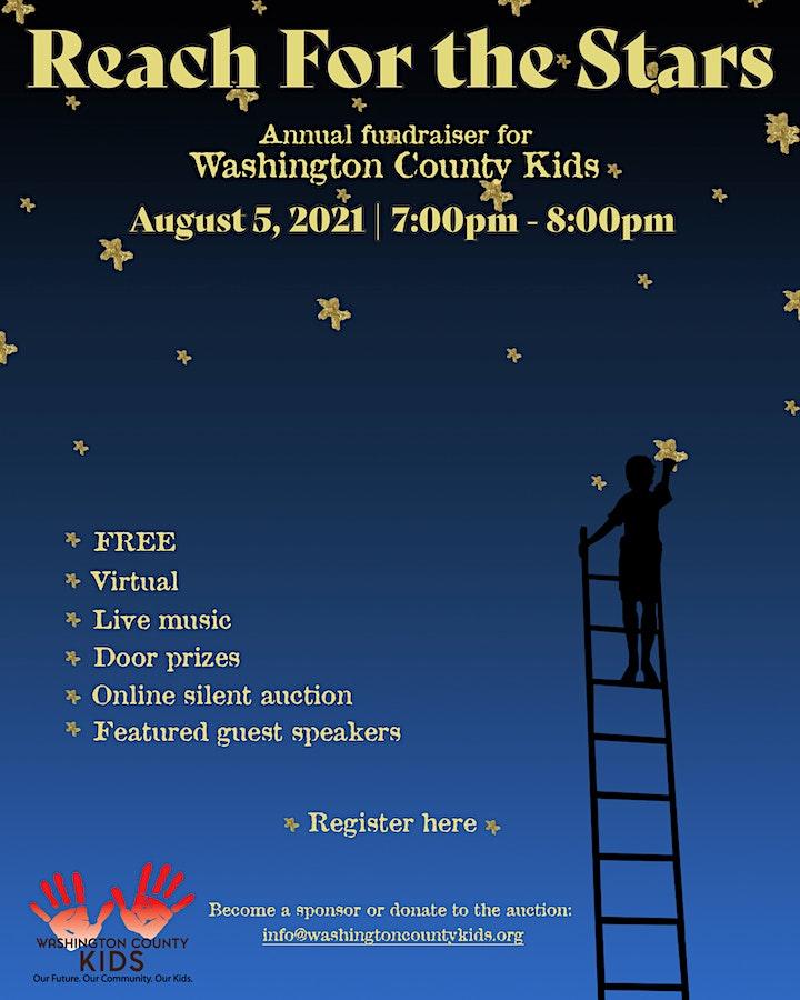 Washington County Kids Reach for the Stars 2021 image