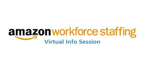 Amazon Workforce Staffing Virtual Info Session - NJ Warehouse Jobs tickets