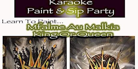 Karaoke Paint & Sip Party tickets