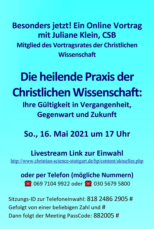 Live-Online-Vortrag: > Auf der Suche nach Heilung? <: Bild