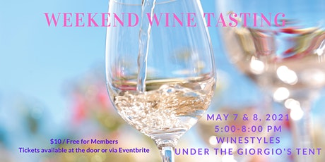 Weekend Wine Tasting (Friday and Saturday) tickets