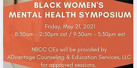 Black Women's Mental Health Symposium tickets