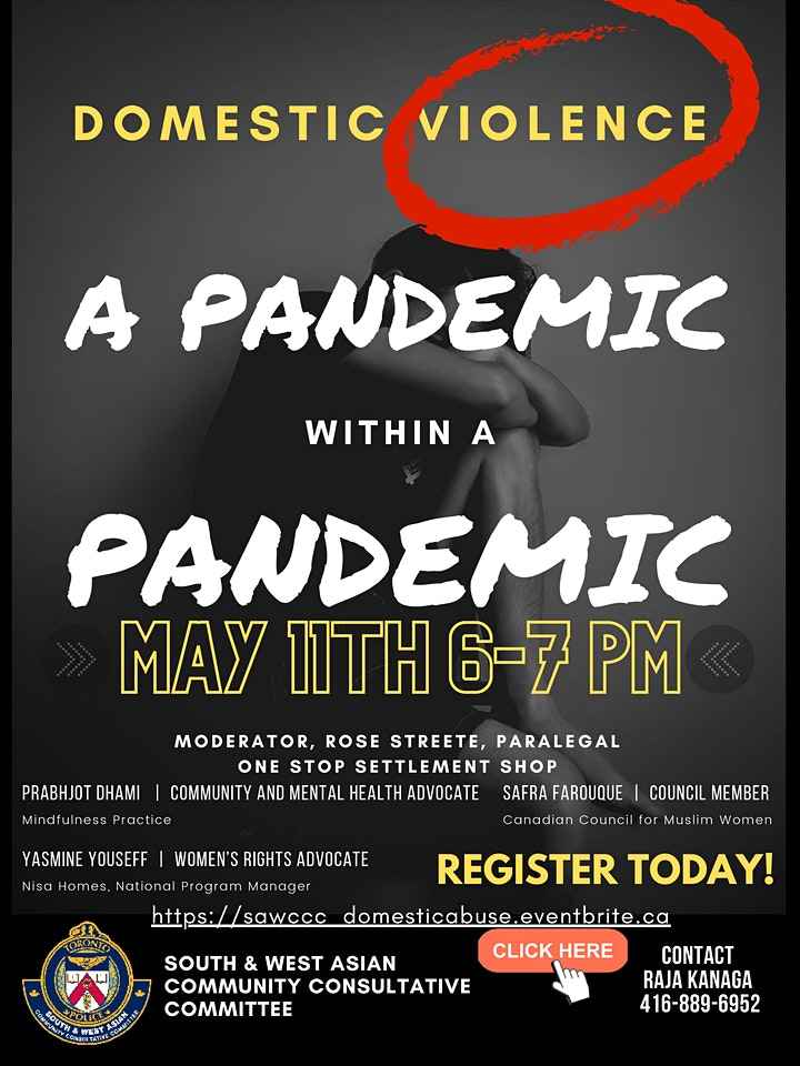 Domestic Violence: A Pandemic Within A Pandemic image