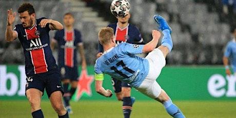 LIVE@!.MaTch Manchester City v Paris Saint-Germain LIVE ON fReE UEFA 2021 tickets