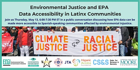 Environmental Justice: EPA Data Language Access in Latinx Communities tickets