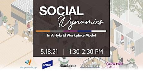 Social Dynamics: A Hybrid Workplace Model biglietti