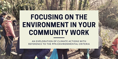 Focusing on the Environment in your Community Work tickets