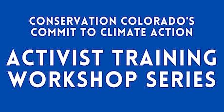 Climate Activist Training Workshops tickets