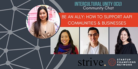 Be An Ally: How to support Asian American Communities & Businesses tickets