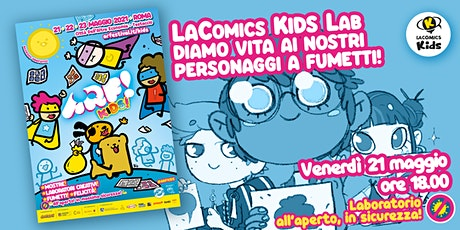 LaComics Kids Lab biglietti