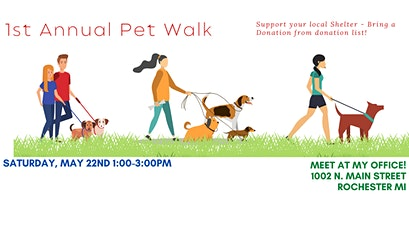 1st Annual Rochester Pet Walk Sponsored by Caron Koteles Riha tickets