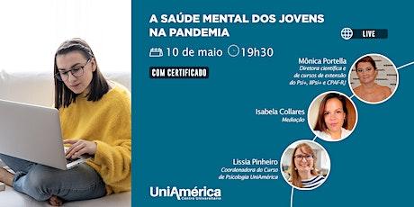Conversa Online: A saúde mental dos jovens na pandemia bilhetes