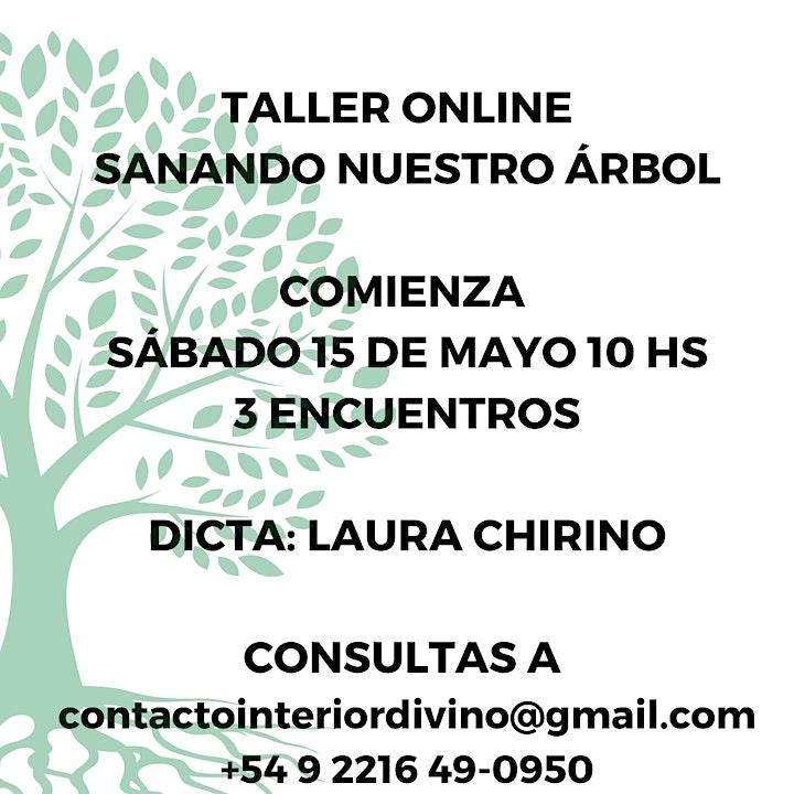 Imagen de TALLER ONLINE: Sanando nuestro árbol - MAYO